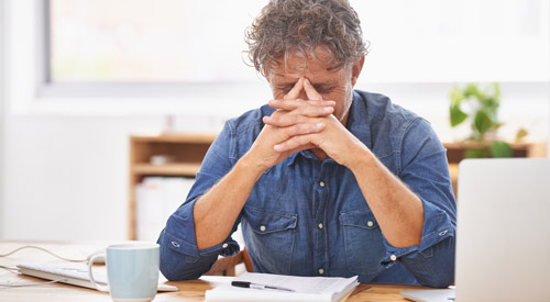тревога и напряжение на работе