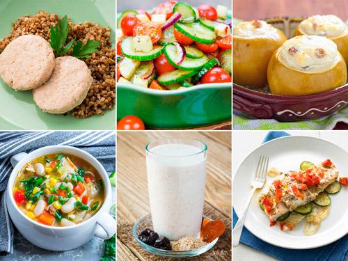 примерное меню на день при антихолестериновой диета