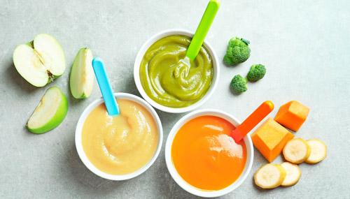 домашнее овощное пюре для ребенка