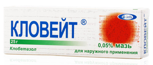 препарат Кловейт для лечения атопического дерматита