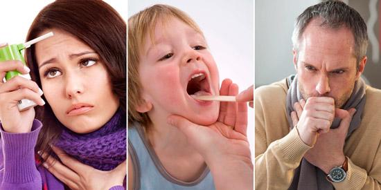 болезни горла у детей и взрослых