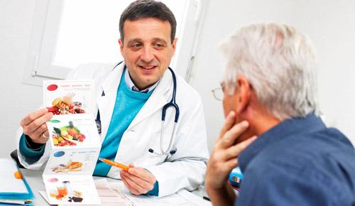 консультация у врача диетолога