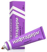 Нафтадерм лекарственная мазь от псориаза