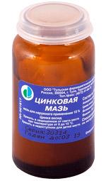 Цинковая мазь для лечения псориаза