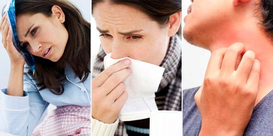 симптомы скарлатины у взрослых: лихорадка, синусит, сыпь