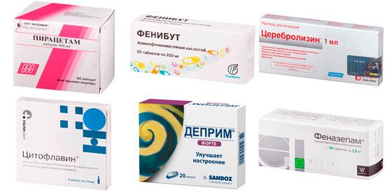 рекомендуемые препараты при заикании: Пирацетам, Церебролизин, Деприм и др.