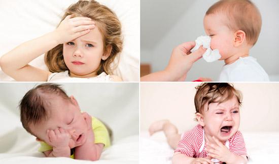 симптомы простуды у ребенка