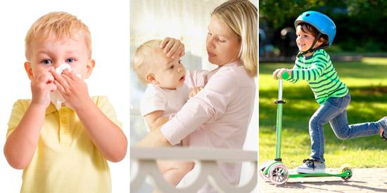 легкая форма болезни у ребенка