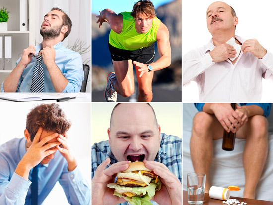 внешние факторы вызывающие потоотделение