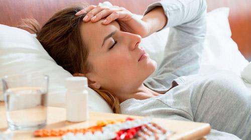 головня боль при инфекционных заболеваниях