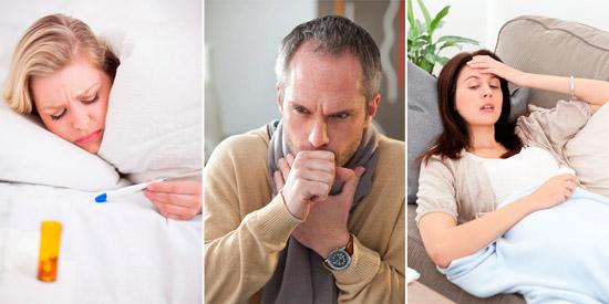 распространенные симптомы пневмонии: лихорадка, кашель, слабость