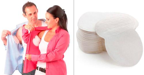 прокладки для подмышек от пота