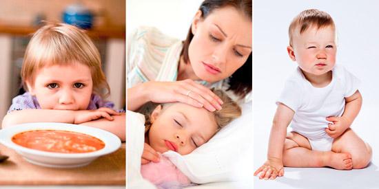 симптомы высокой температуры у ребенка