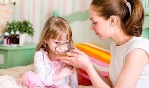 обильное питье для ребенка при температуре