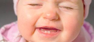 прорезывании зубов у ребенка