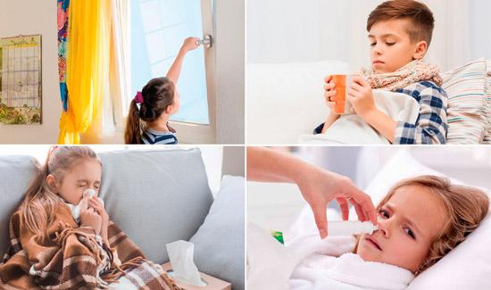создание оптимальных условий для больного ребенка