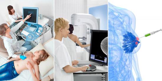 методы диагностики аденомы в молочной железе