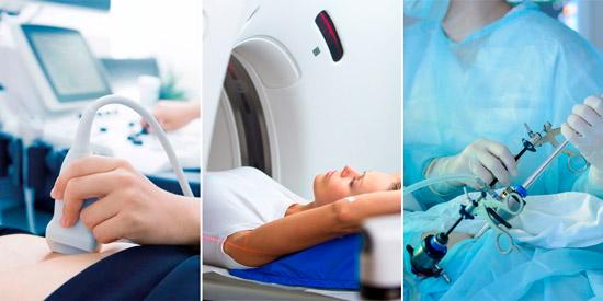 методы диагностики: узи, мрт, гистероскопия