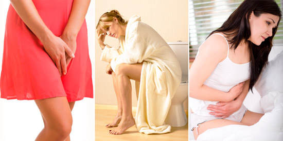 симптомы атрофического кольпита: дискомфорт, частое мочеиспускание, диспареуния