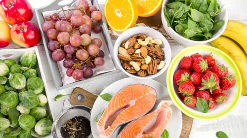 свежие продукты для питания диабетиков