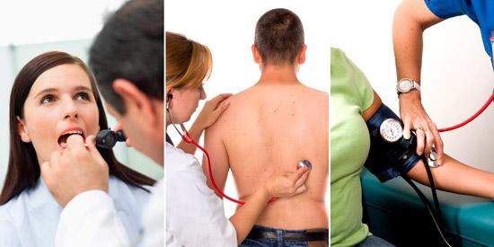 рекомендуемые методы диагностики