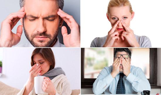 симптомы гайморита у взрослого