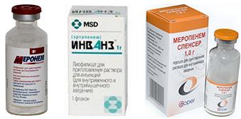 антибиотики широкого спектра дейсвия меронем меропенем иванз