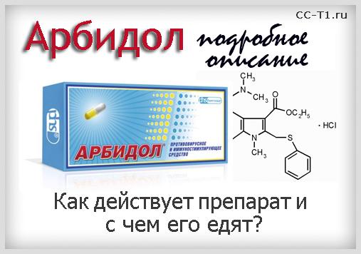 Арбидол подробное описание препарата