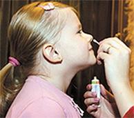 смазывание носа