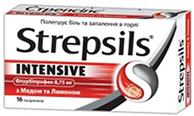 стрепсилс интенсив - леденцы