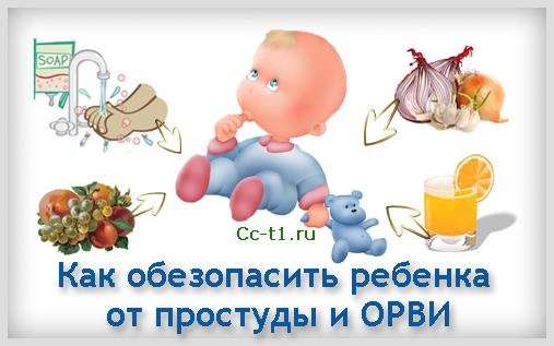 Как обезопасить ребенка от простуды и ОРВИ