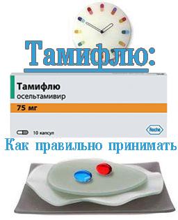 Как правильно принимать Тамифлю
