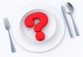 вопрос на тарелке