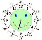 веселые часы