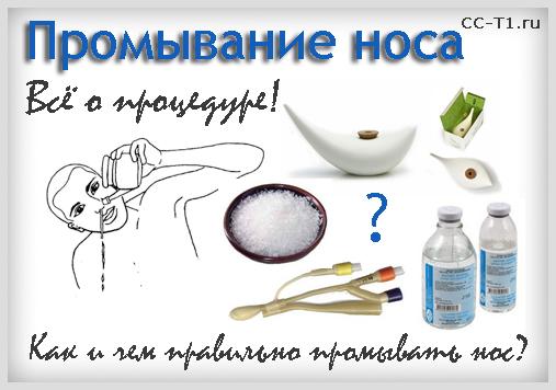 Промывание носа соленой водой: как приготовить солевой 8